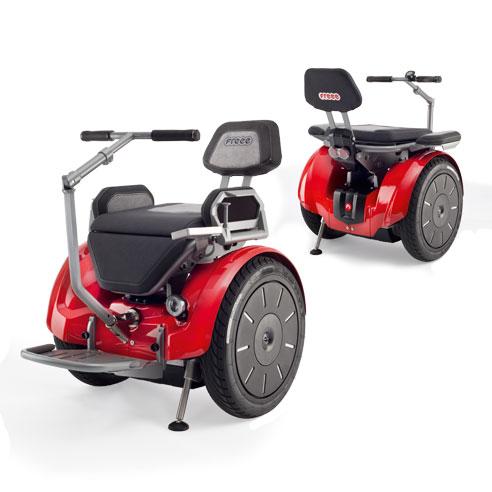 Das Thema Sicherheit stand bei der Entwicklung des Segway-Rollstuhls Freee F2 an erster Stelle